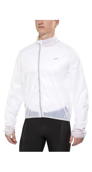 Protective Rain Glow Taped Jacket Men white